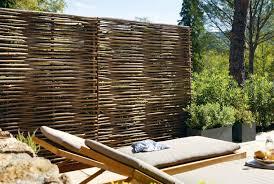 brise vue en bambou pas cher vue bois hauteur 120