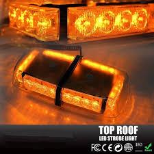 amber mini light bar e863pa amber led mini light bar with lighter plug 24 led light