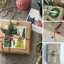 unique gift wrap 26 unique gift wrap ideas using brown paper to make you look like