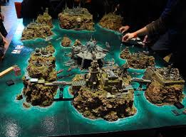 warhammer 40k board truly beautiful table to play on