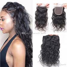 wet and wavy human hair weave hairstyles 2018 malaysian virgin hair wet and wavy weaves with lace closure