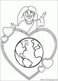 coloring pages christian symbols coloring sheet a selection
