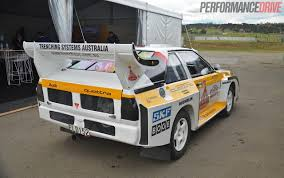audi rally video audi sport quattro group b rally car experience