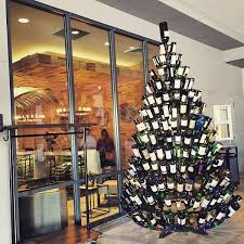 wine bottle christmas tree good i suppose this most recent