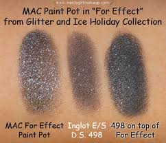 nerdy makeup blog archive mac glitter and ice paint pot