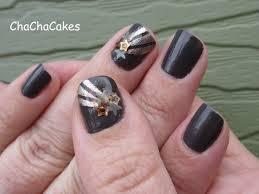 cha cha cakes nails shooting star nail art