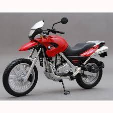 bmw motocross bike bmw f650gs motorcycle model 1 12 scale transport pinterest