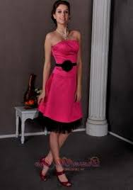 pink and black bridesmaid dresses naf dresses