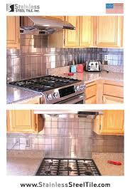 Steel Tile Backsplash by 192 Best Backsplash Kitchen Ideas Images On Pinterest Stainless