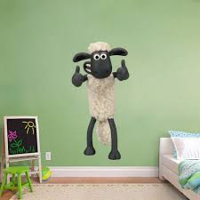 amazon com shaun the sheep decal graphic wall sticker home decor amazon com shaun the sheep decal graphic wall sticker home decor art kids h03 large home kitchen