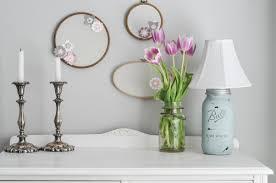 shabby chic mason jar lamp suburble