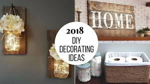 diy home interior design 2018 diy home decorating projects to try