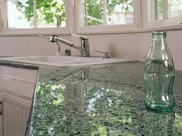 glass countertop kitchen kitchen recycled glass countertops resin countertops crushed