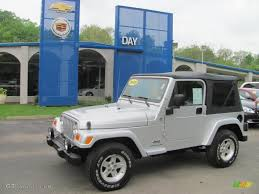 2005 bright silver metallic jeep wrangler x 4x4 30036288