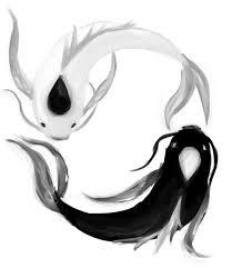 yin yang koi fish painting water color paintings
