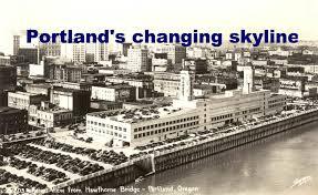 Portland City Flag Portland U0027s Skyline Iron Workers Write The City U0027s History In