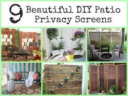 Garden Screening Ideas Privacy Screen For Patio Designer Screens Garden Design