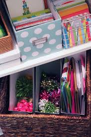 gift wrap storage ideas best 25 organizing gift bags ideas on gift wrap
