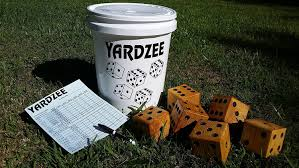 amazon com giant yardzee farkle cootie lawn yahtzee yard