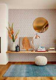 wallpaper design for home interiors enrich your home design w some fancy pattern wallpaper ideas