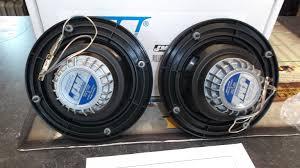 j u0026m 5 25 rear speaker upgrade black tweeter dresser harley