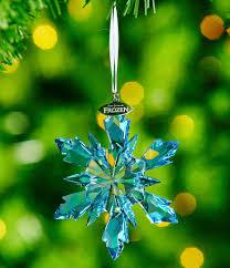 swarovski disney frozen snowflake ornament dillards
