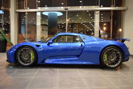 porsche voodoo blue glamorous blue porsche 918 spyder is our type of hypercar