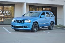 tiffany blue jeep grand cherokee matte blue metallic jeep grand cherokee color change wrap car
