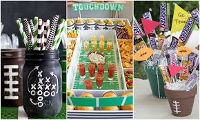football decorations 12 diy football decorations for a bowl party decorating