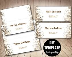 place cards gold place card etsy