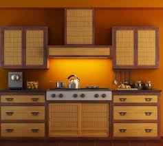 asian style kitchen cabinets asian style kitchens with bamboo kitchen cabinet doors elegant