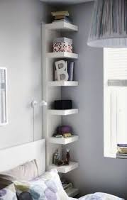 shelves for bedroom walls 10 brilliant storage tricks for a small bedroom budgeting