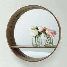 Mirror With Shelves by Round Mirror With Shelf U2026 Pinteres U2026