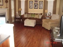 floor gallery wall design with pergo laminate flooring plus table