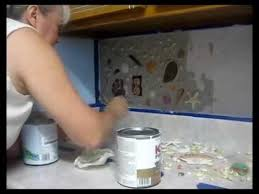 How To Do Tile Backsplash by Seashell Backsplash How To Make Your Own With Real Shells Youtube