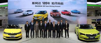 volkswagen china new era for škoda in china u2013 chinese premiere of new škoda superb