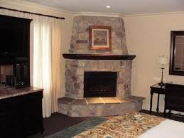 decoration corner stone fireplace designs interior decoration