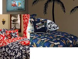 Surfing Bedding Sets Hawaiian Bedding Tropical Bedding Bedding Surf Bedding
