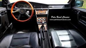 1986 mercedes 190e 2 3 16 palm beach classics