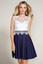 navy cream lipsy lace skater dress online shopping effect on