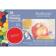 amazon paint by numbers black friday amazon com panpastel ultra soft artist pastel painting set 20 pack