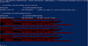 powershell quote list tracking malicious windows server events with powershell u2013 netwrix