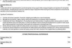 Resume Mining Mining Resume Templates Download Mining Engineer Sample Resume