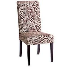 Zebra Dining Chairs Brown And White Zebra Dining Chair