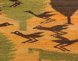 mid century rug etsy
