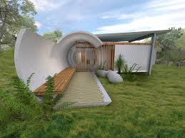 another type of earth sheltered home is the u201cbermed u201d design which