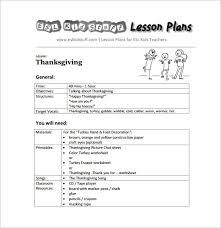 doc 585605 kindergarten lesson plan template kindergarten