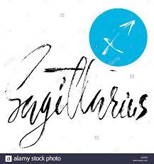 zodiac sign of sagittarius astrology vector illustration sketch