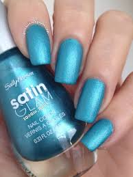 teal tulle sally hansen teal tulle swatches and nail nailpolis museum