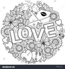 design coloring book vector coloring book design wedding stock vector 562630834
